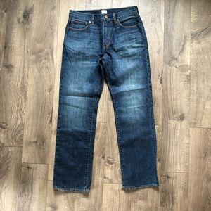 J Crew • Vintage Slim Straight Jean sz 31x30